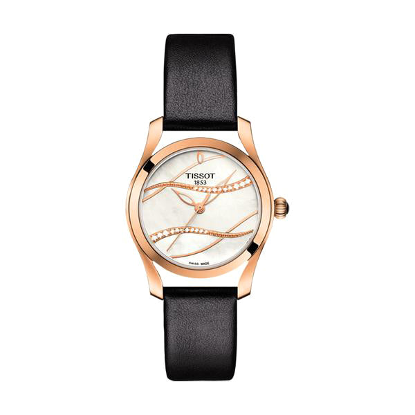 T-Wave Mother Of Pearl Dial Ladies Watch