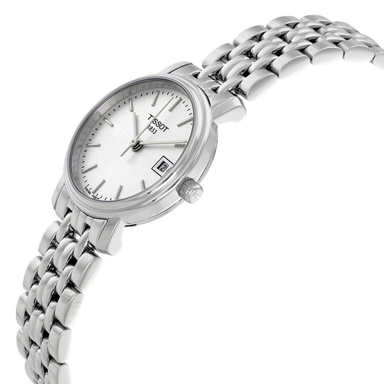 Desire Steel Case Silver Dial Ladies Watch