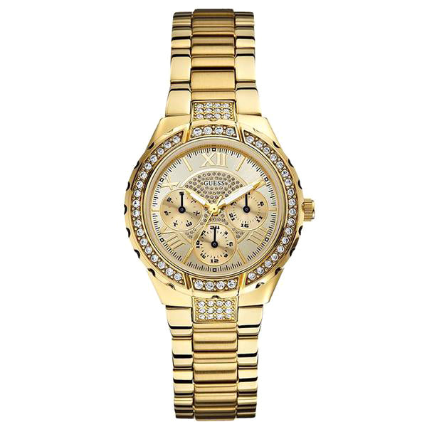 Viva Multi-Function Gold-Tone Stainless Steel Ladies' Watch