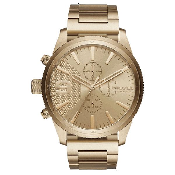 Rasp Gold-Tone Sunray Dial Men's Chronograph Watch