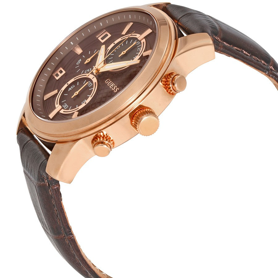 Exec Brown Dial Men's Chronograph Watch