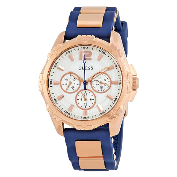 Intrepid 2 White Dial Ladies Chronograph Watch