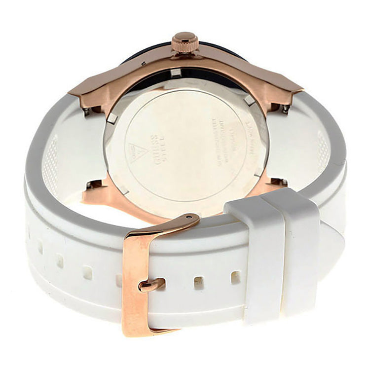 Jet Setter Multi-Function White Dial White Strap Ladies' Watch