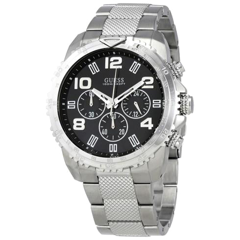 Velocity Black Dial Men's Chronograph Watch
