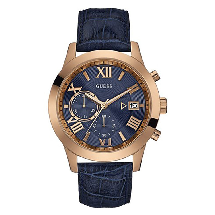 Atlas Multi-Function Blue Dial Men's Watch