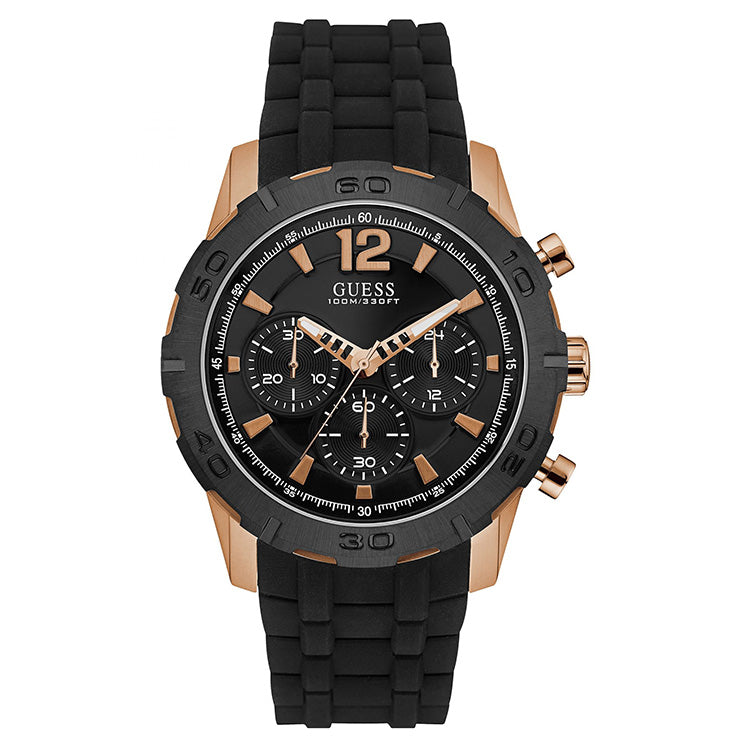 Caliber Multi-Function Black Dial Men's Watch