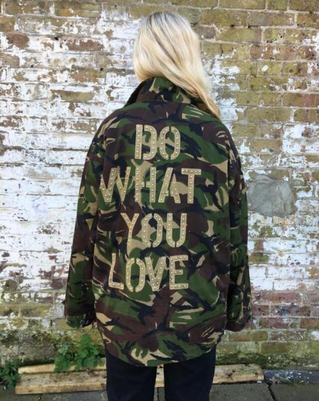 Green Camo Jacket - Do What You Love