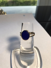 Load image into Gallery viewer, Lapis lazuli ring