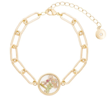 Load image into Gallery viewer, Club Tropicana Locket (gold only)