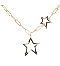 Load image into Gallery viewer, BRIGHTS – Starry Night necklace (gold)