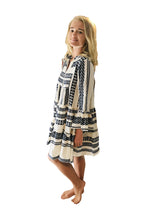 Load image into Gallery viewer, Aztec Long sleeve dress