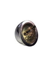 Load image into Gallery viewer, Large Signet ring solid silver
