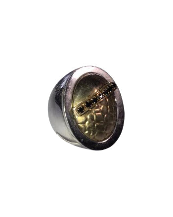 Large Signet ring solid silver