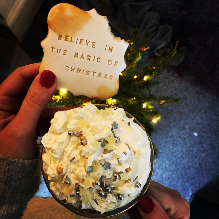 Believe in the magic of Christmas biscuit from treat box advent calendar