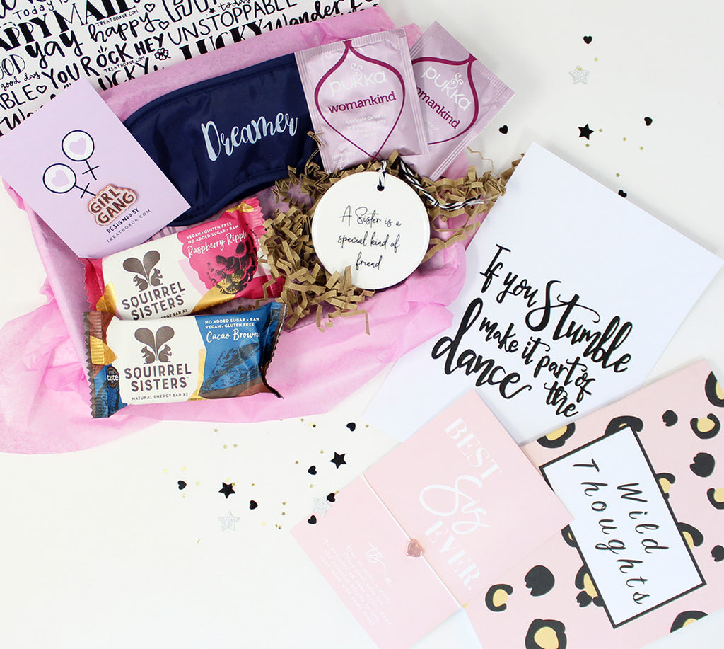 Build a gift box for a sister