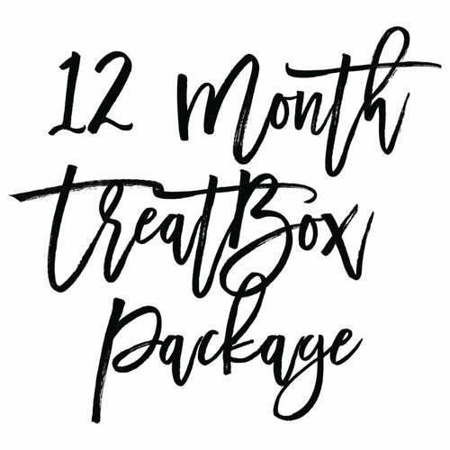 Our monthly subscription boxes can make a thoughtful gift to say happy birthday, thank you or congratulations. Click to find out more about our 12 month package.