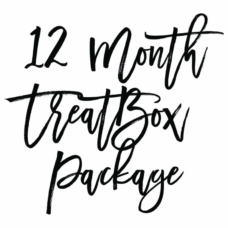 Our monthly letterbox subscription boxes can make a thoughtful gift to say happy birthday, thank you or congratulations. Click to find out more about our 12 month package.