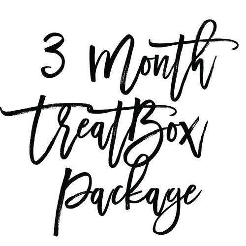 3 Month Treatbox Package - Treatbox Package