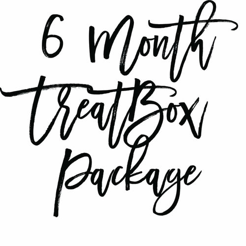 6 Month Treatbox Package - Treatbox Package
