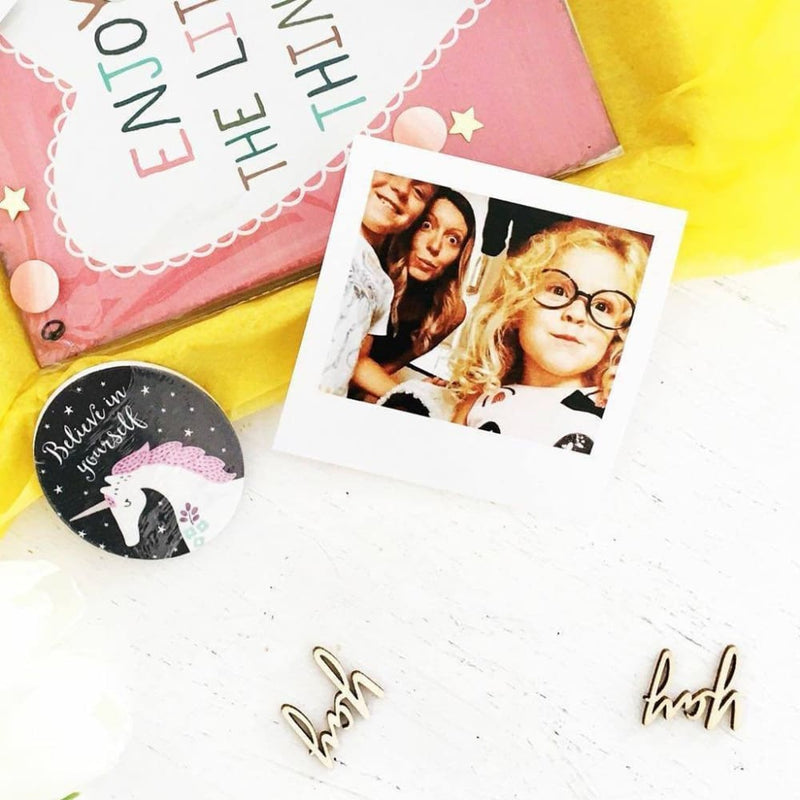 Polaroid Style Photo - Add On - Personalised Cards & Mementos from TreatBox
