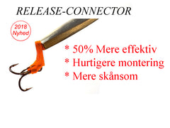 Release-Connector Salmon 5 stk. pakke