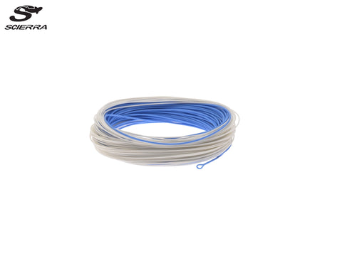 Scierra Aerial WF Flueline White / Blue - Float/Intermediate