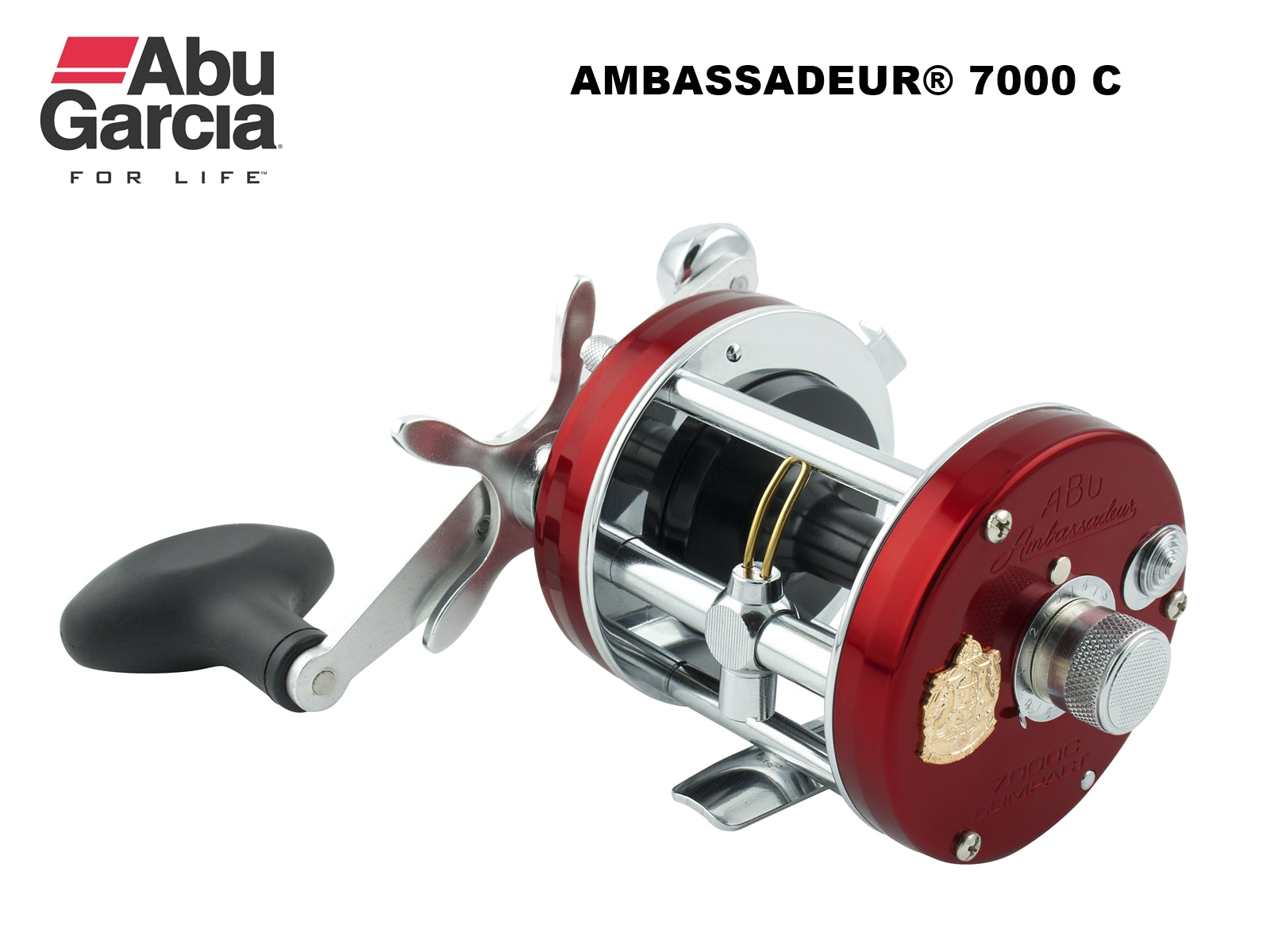 "ABU AMBASSADEUR® 7000 C ""Compact"" - Made in Sweden"