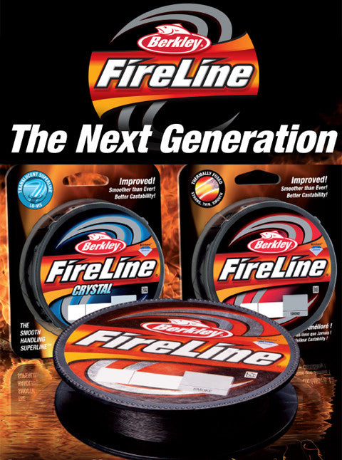 Berkley Fireline Smoke 110 M.