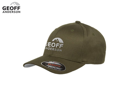 Geoff Anderson Flexfit Olive Cap
