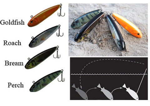 Innovative Lures Jiggy Jr. Vertical Jerkbait