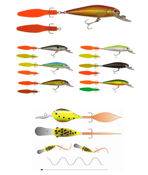 Innovative lures - SwimTail Wobler (110mm)