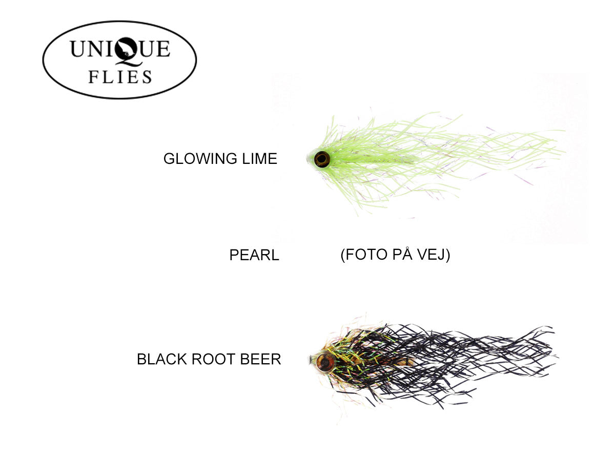 Unique Flies Mylar Pike Tube - Geddeflue