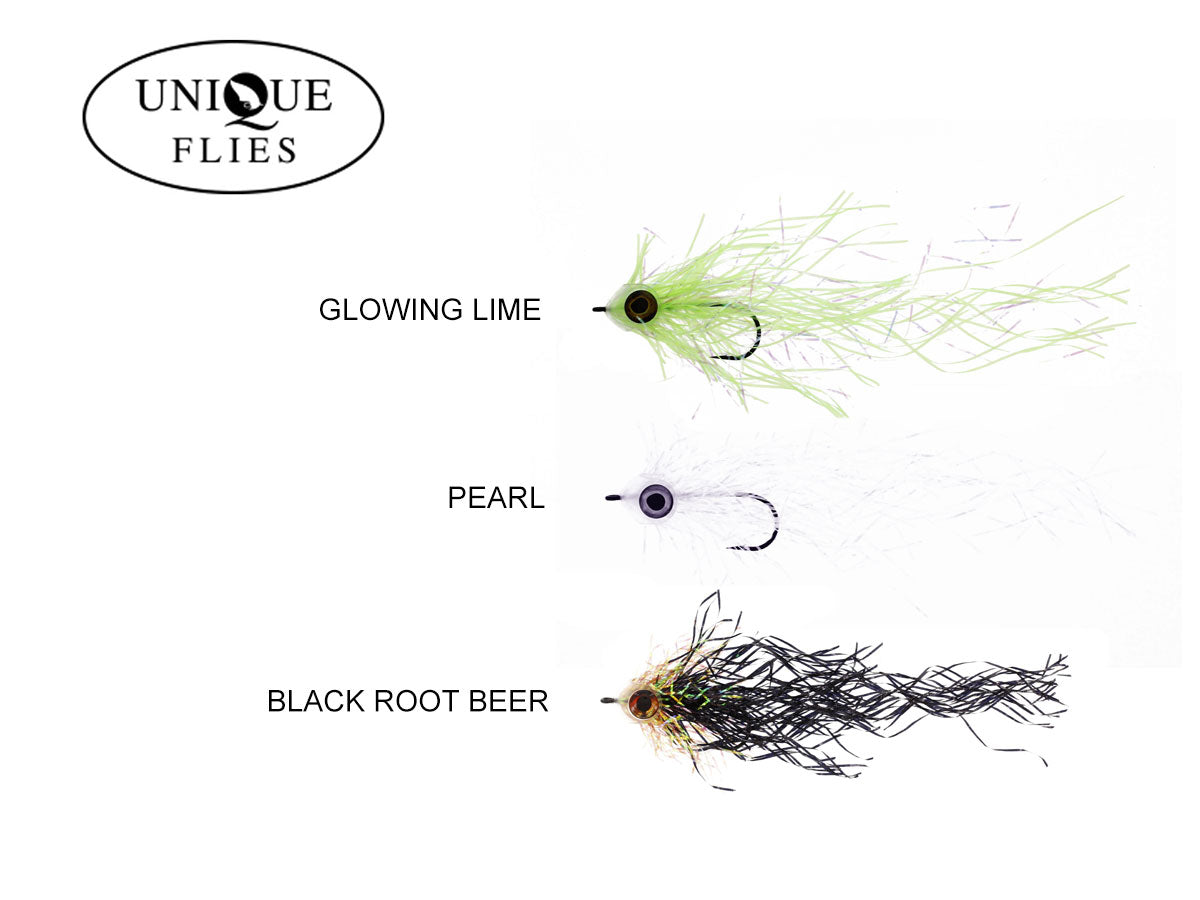 Unique Flies Mylar Pike - Geddefluer