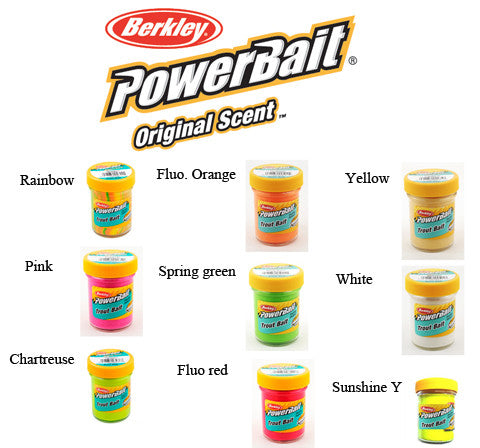 Berkley PowerBait Biodegradable - den originale bait uden glitter