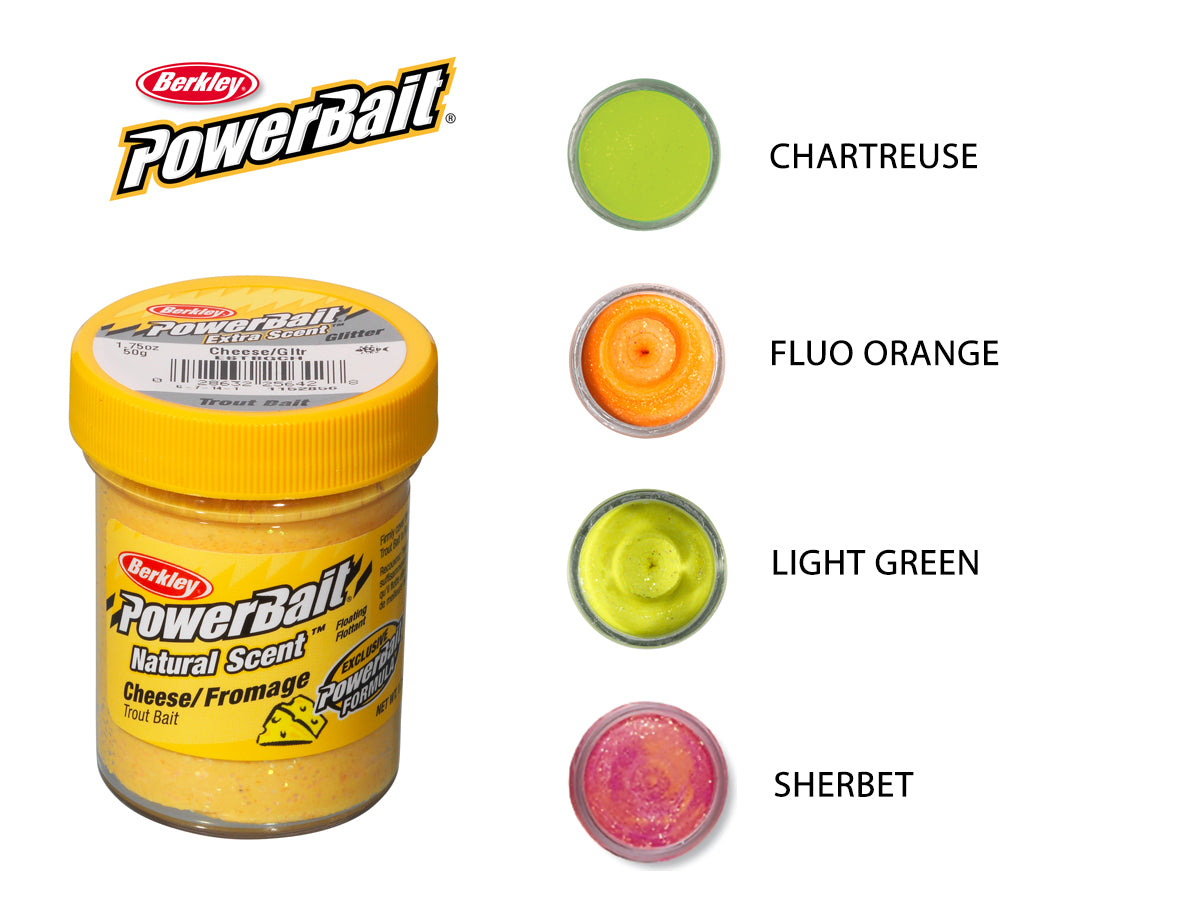 Berkley Powerbait Natural Scent Cheese