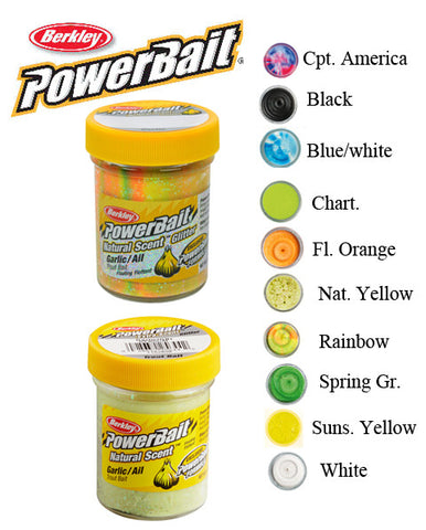 Berkley Powerbait Natural Scent Hvidløg