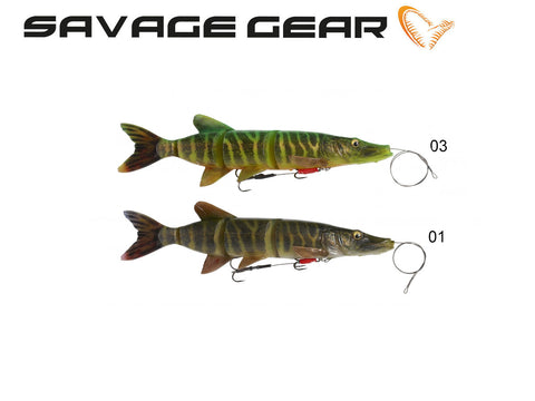 Savage Gear 4D Line Thru Pike - NYHED 2019
