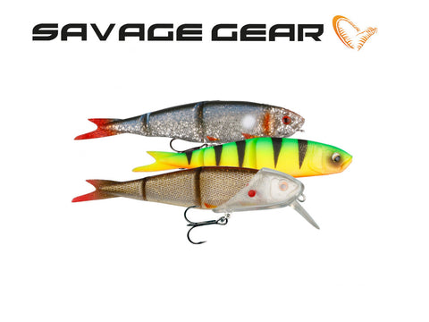 Savage Gear Soft 4Play Lip Scull Kit 3+1 - NYHED 2019