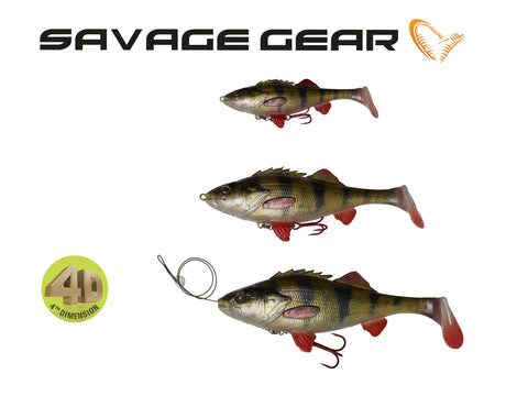 Savage Gear 4D Perch Shad - NYHED 2019