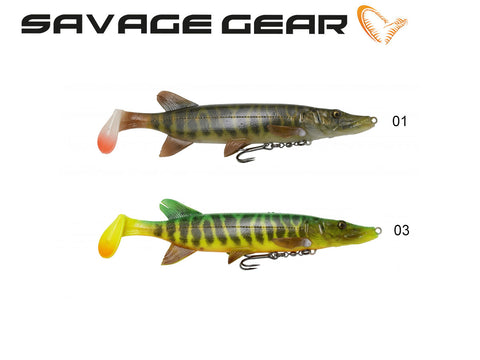 Savage Gear 4D Pike Shad - NYHED 2019