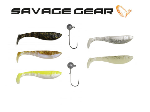 Savage Gear LB Pro 4Play Shad Kit - NYHED 2019