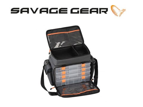 Savage Gear Lure Specialist Bag Stor m/6 bokse