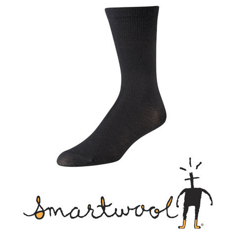 SmartWool Hiking Liner Crew - Black