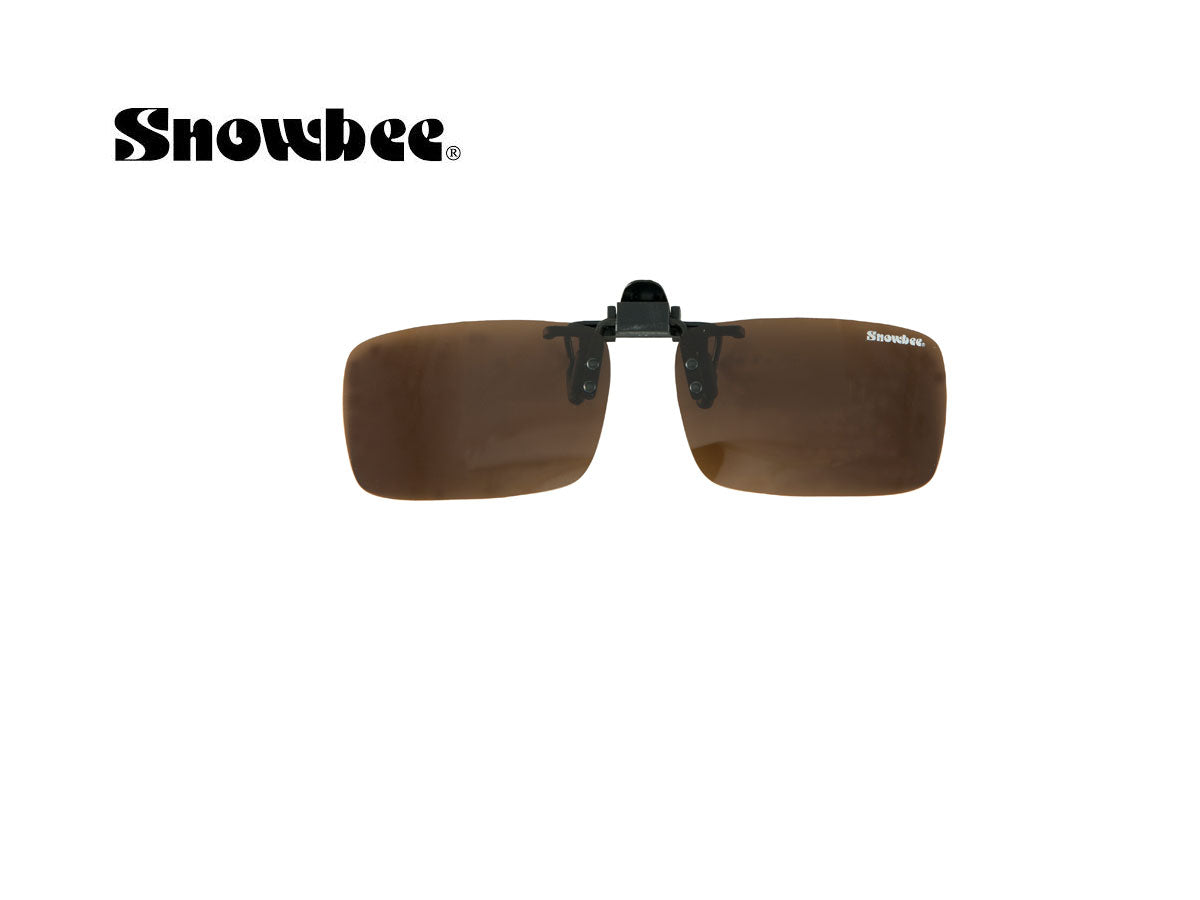 Snowbee Clip On Polaroid solbrille - Amber