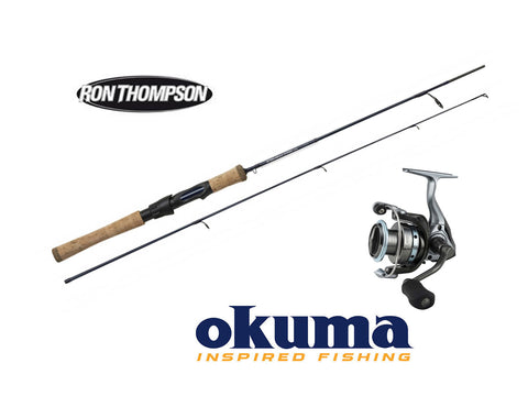 Ron Thompson Steelhead Iconic SPIN Fiske sett.