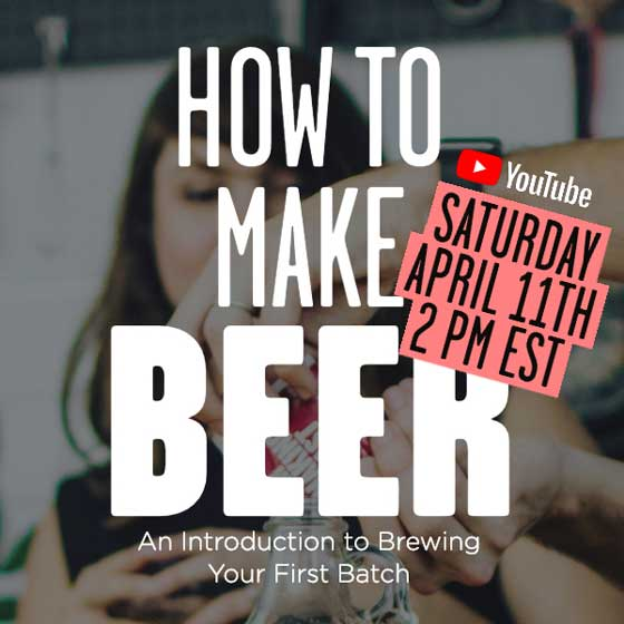 Live Beer Making Class