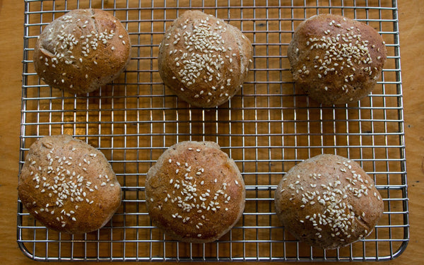 Recipe: Spent Grain Burger Buns