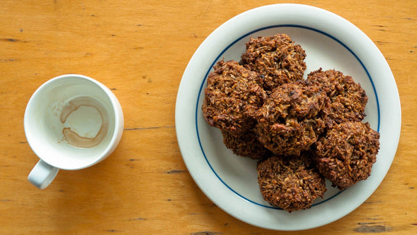 Recipe: Spent Grain Coconut & Pecan Cookies