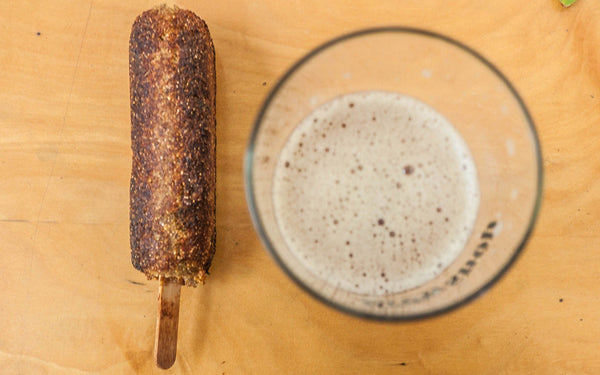 Recipe: Spent Grain Corn Dog