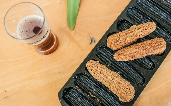 Recipe: Spent Grain Corn Sticks